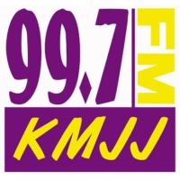 Logo of radio station KMJJ 99.7