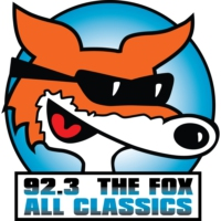 Logo of radio station KOFX 92.3 The Fox