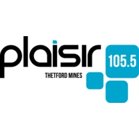 Logo of radio station CKLD-FM Plaisir 105.5