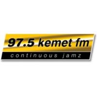 Logo of radio station 97.5 Kemet FM