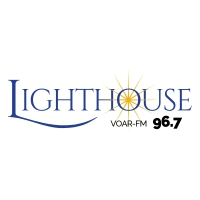 Logo de la radio VOAR-FM Lighthouse 96.7