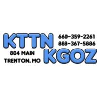 Logo of radio station KTTN Radio