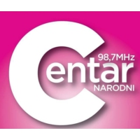 Logo of radio station Centar FM