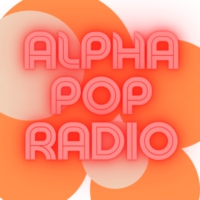 Logo of radio station Alpha Pop Radio