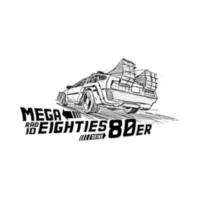 Logo de la radio MEGA RADIO 80's