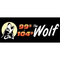 Logo of radio station WPCK The Wolf 104.9