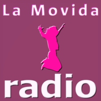 Logo of radio station La Movida Radio