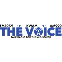 Logo de la radio KWAM The Voice