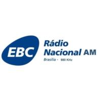 Logo of radio station Rádio Nacional AM Brasília