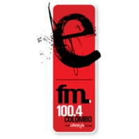 Logo of radio station E FM