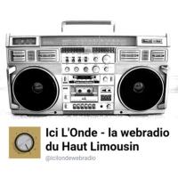 Logo de la radio ICI L'ONDE la webradio du haut Limousin