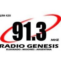 Logo of radio station FM Genesis 91.3