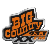 Logo de la radio CJXX Big Country 93.1