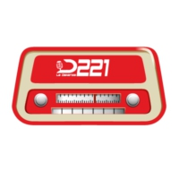 Logo of radio station RADIO D221