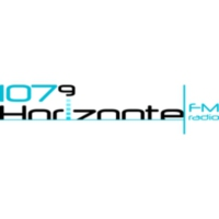 Logo of radio station XHIMR Horizonte 107.9 FM