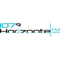 Logo of radio station XHIMR Horizonte 107.9 FM