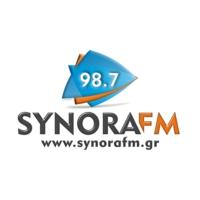 Logo de la radio Synora FM 98.7 - Σύνορα 98.7
