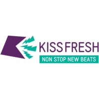 Logo of radio station KISS FRESH