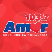 Logo of radio station Amor 103.7