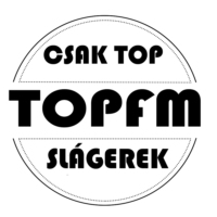 Logo of radio station Topfm Rádió