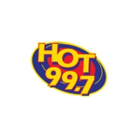 Logo of radio station KHHK Hot 99.7