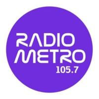 Logo de la radio 105.7 Radio Metro