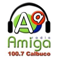 Logo of radio station Radio Amiga FM 100.7 Calbuco
