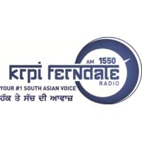 Logo of radio station KRPI Radio