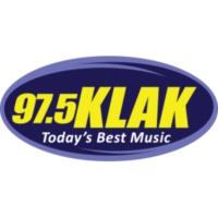 Logo de la radio 97.5 KLAK