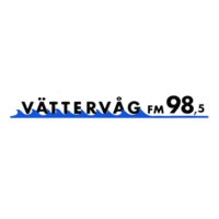 Logo of radio station Vättervåg 98.5
