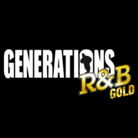 Logo of radio station Generations - R&B GOLD