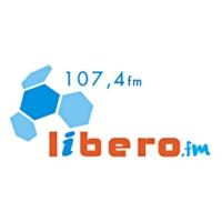 Logo of radio station Libero FM 107.4