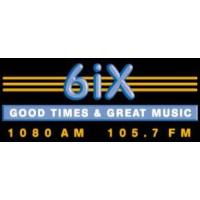 Logo of radio station 6IX