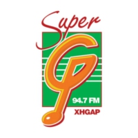 Logo of radio station XHGAP La Súper G 94.7 FM