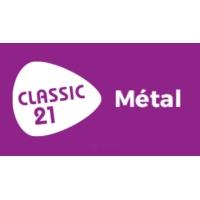 Logo of radio station Classic 21 - Metal (RTBF)