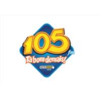Logo of radio station Rádio 105 FM 105.7 FM ZYL659