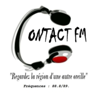 Logo of radio station Contact FM Carcassonne