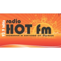 Logo of radio station Радио Хот ФМ
