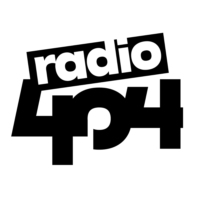 Logo of radio station radio404