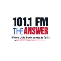 Logo de la radio 101.1 FM The ANSWER