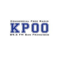 Logo of radio station KPOO FM 89.5