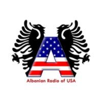 Logo de la radio Albanian Radio of USA