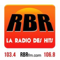 Logo of radio station RBR FM
