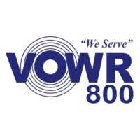 Logo of radio station VOWR 800 AM Radio
