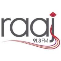 Logo de la radio Raaj FM