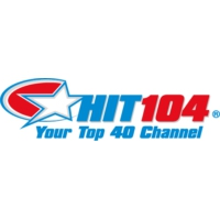 Logo of radio station Hit104