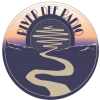 Logo of radio station River Dee Radio