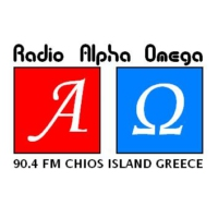 Logo of radio station Rádio Álfa Oméga 90.4 - Ράδιο Άλφα Ωμέγα 90.4