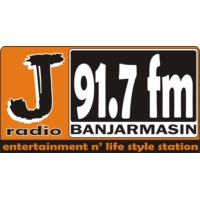 Logo of radio station J Radio