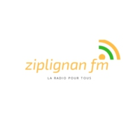 Logo of radio station ZIPLIGNAN FM